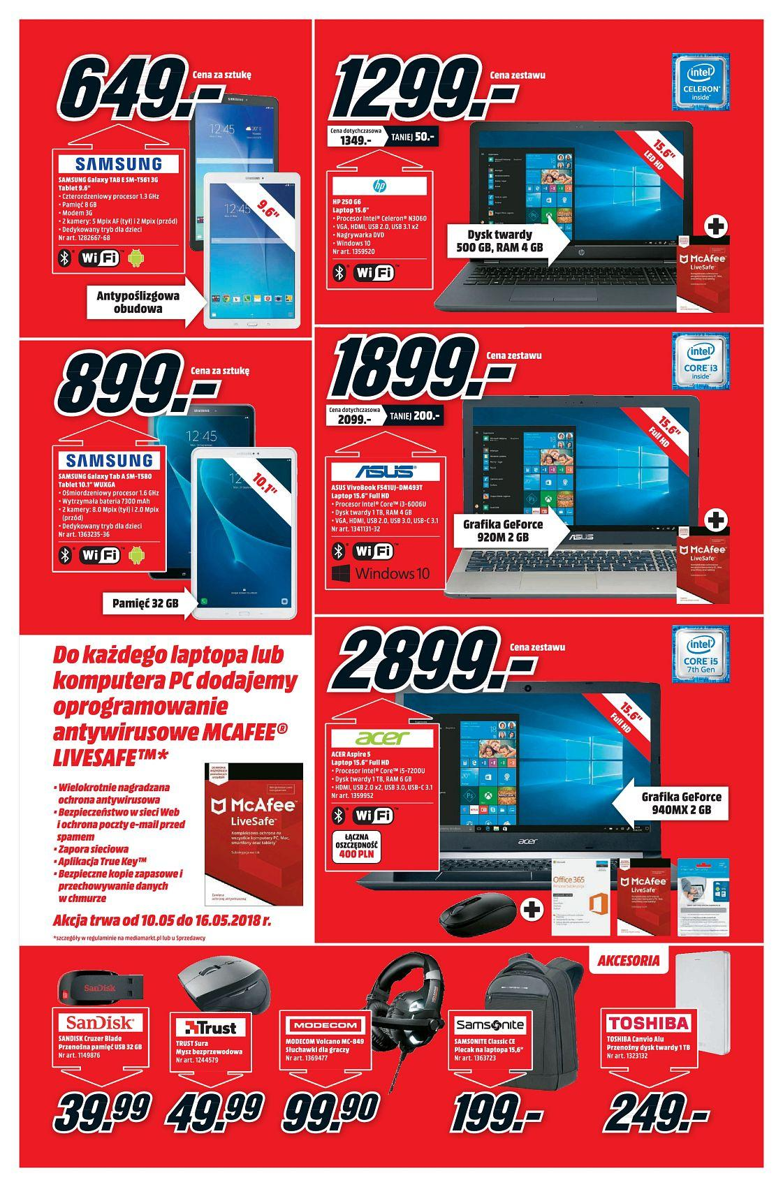 Gazetka promocyjna Media Markt do 16/05/2018 str.6