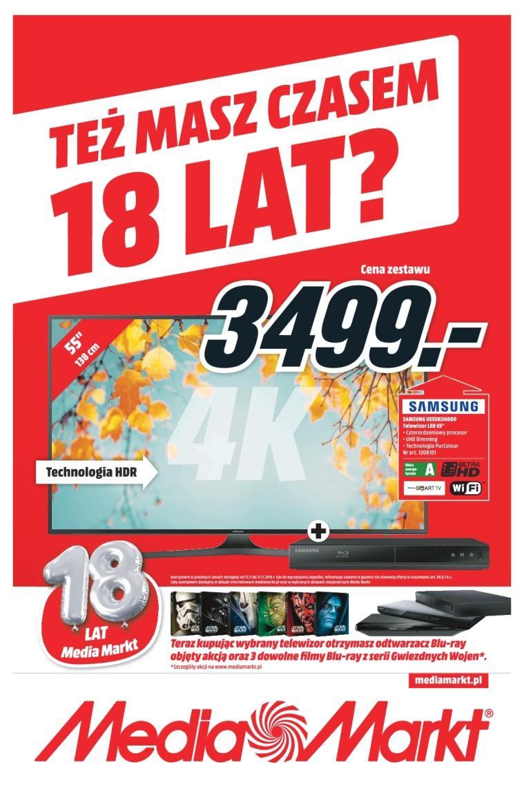 Gazetka promocyjna Media Markt do 17/11/2016 str.0