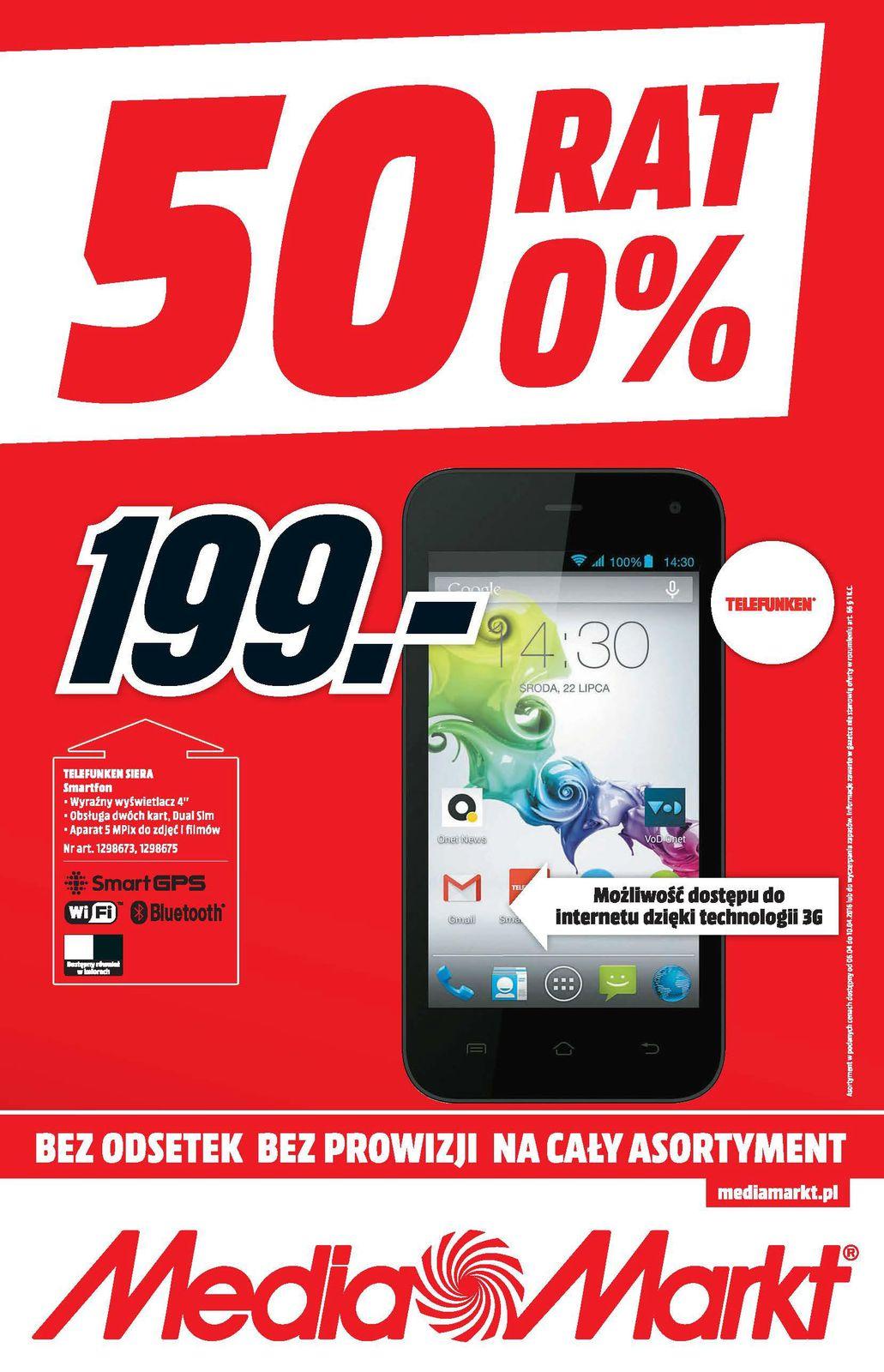 Gazetka promocyjna Media Markt do 10/04/2016 str.0