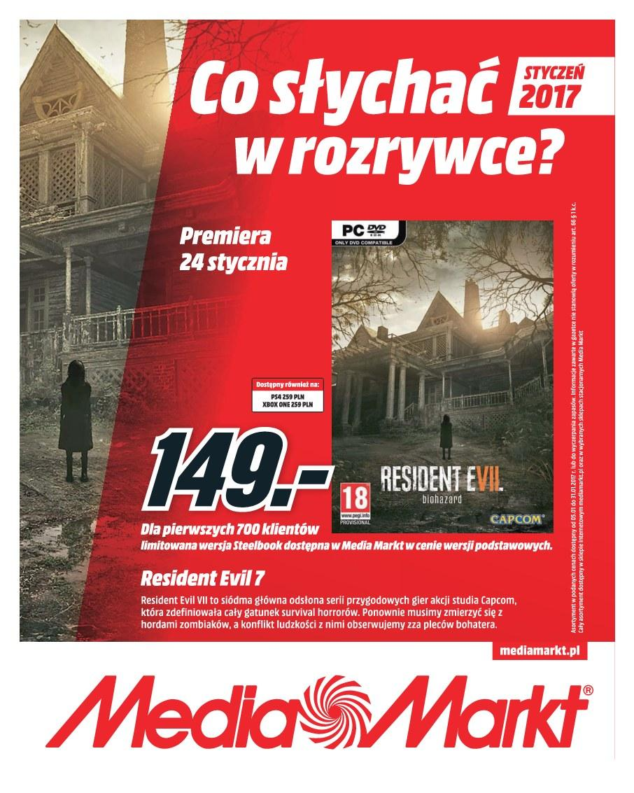 Gazetka promocyjna Media Markt do 31/01/2017 str.0