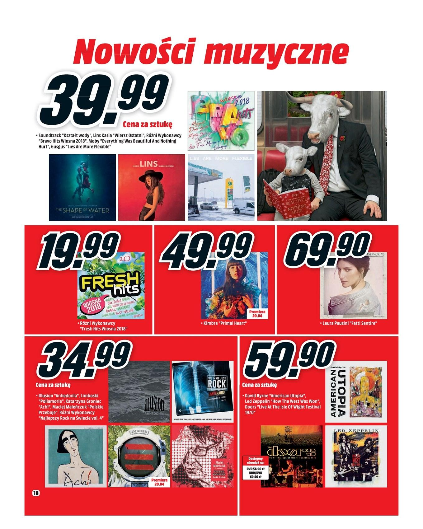 Gazetka promocyjna Media Markt do 30/04/2018 str.17
