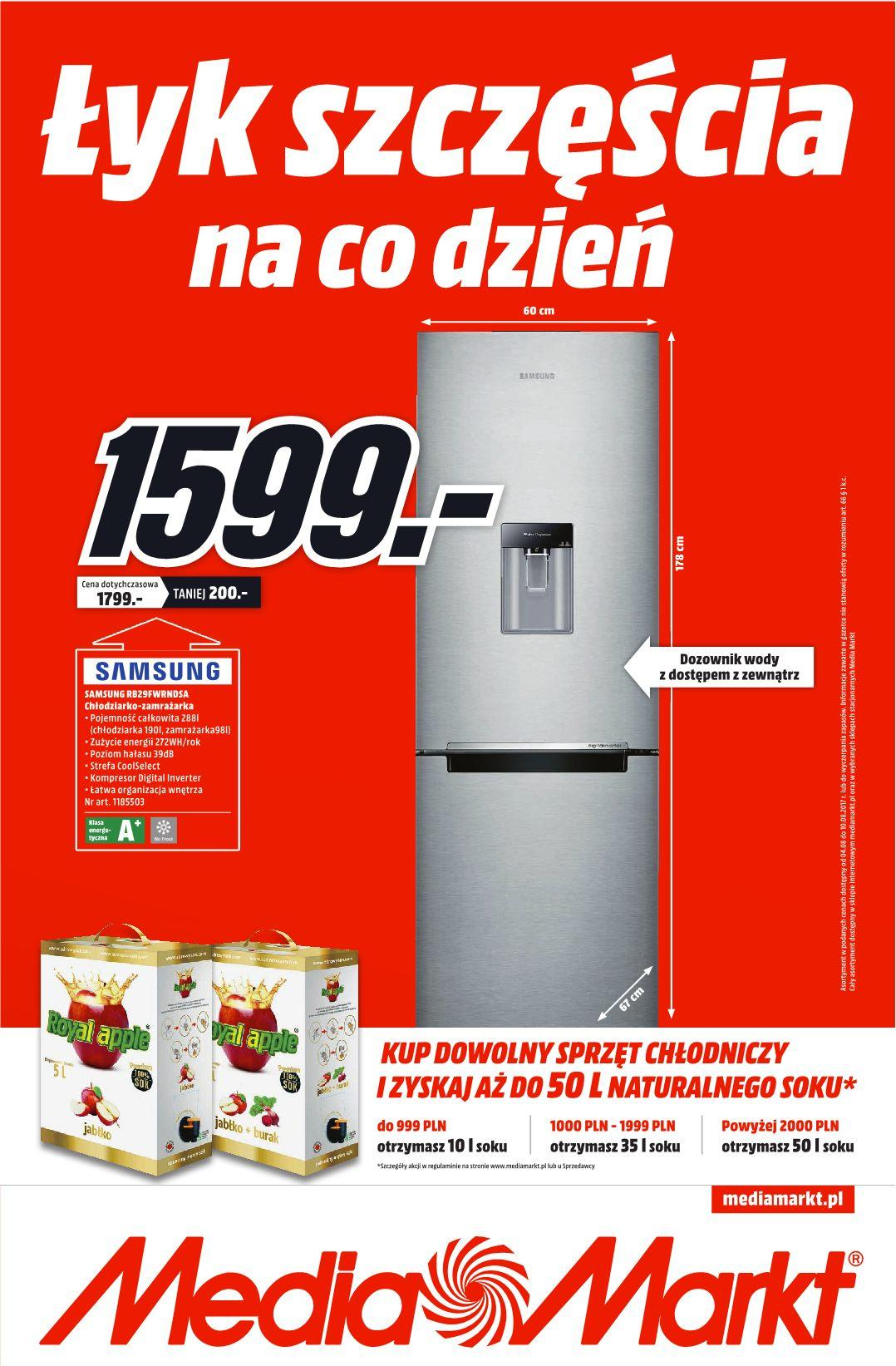 Gazetka promocyjna Media Markt do 10/08/2017 str.0