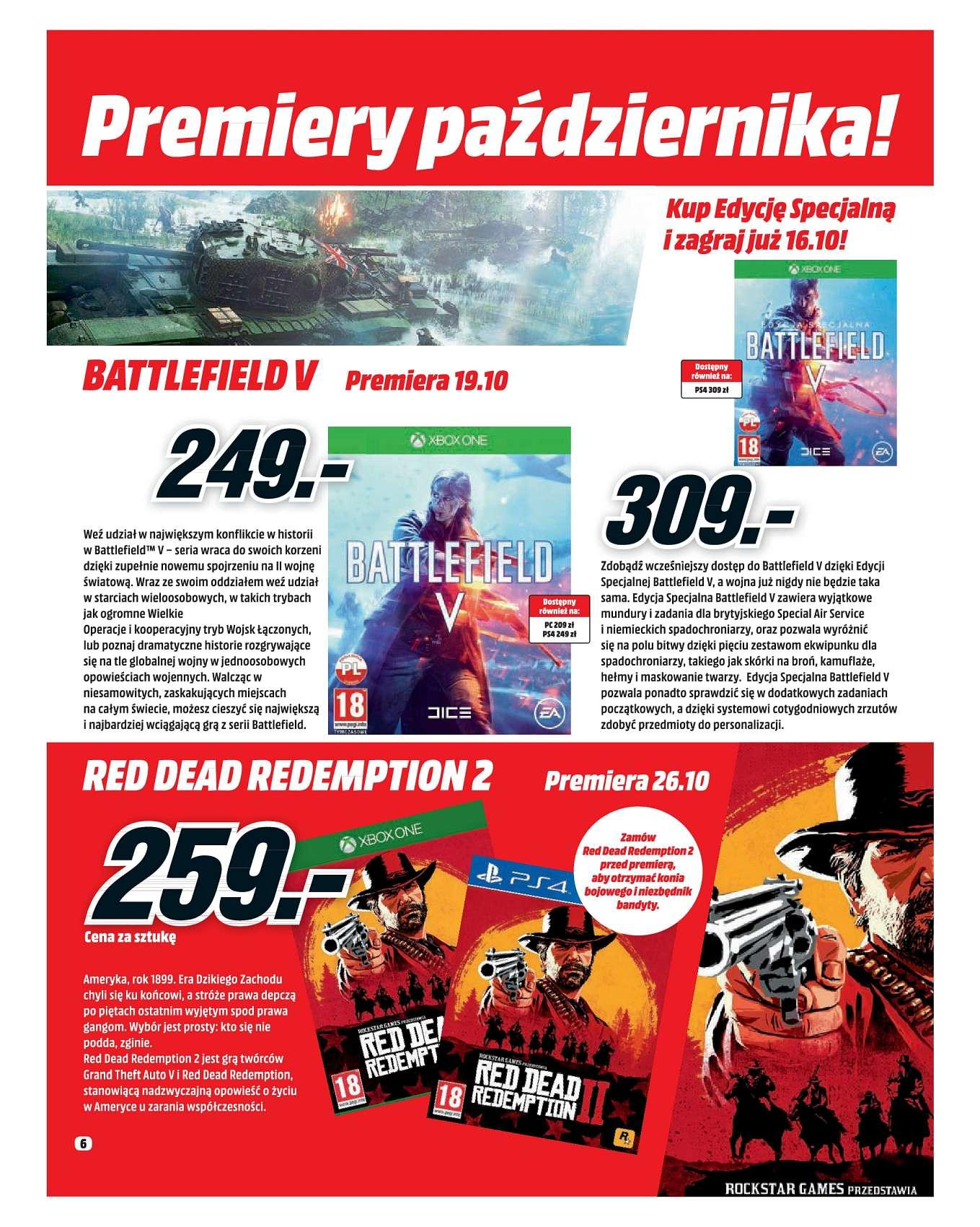 Gazetka promocyjna Media Markt do 30/09/2018 str.5