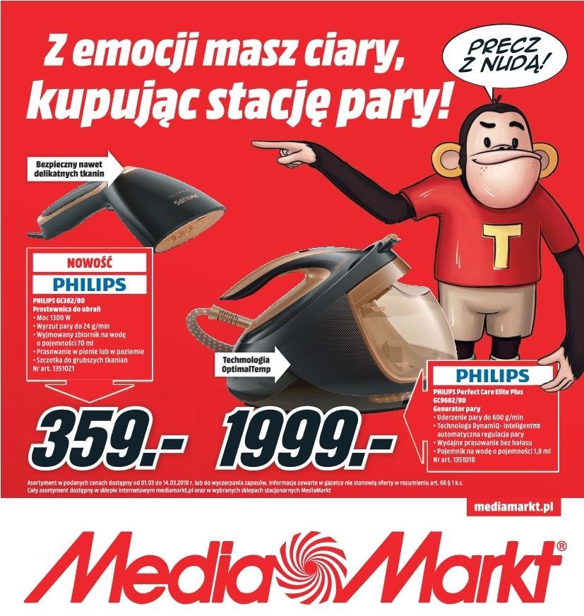Gazetka promocyjna Media Markt do 14/03/2018 str.0