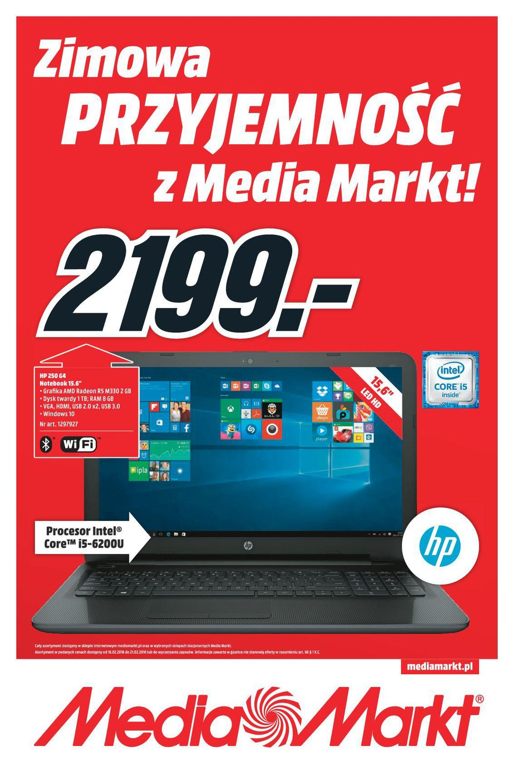 Gazetka promocyjna Media Markt do 21/02/2016 str.0