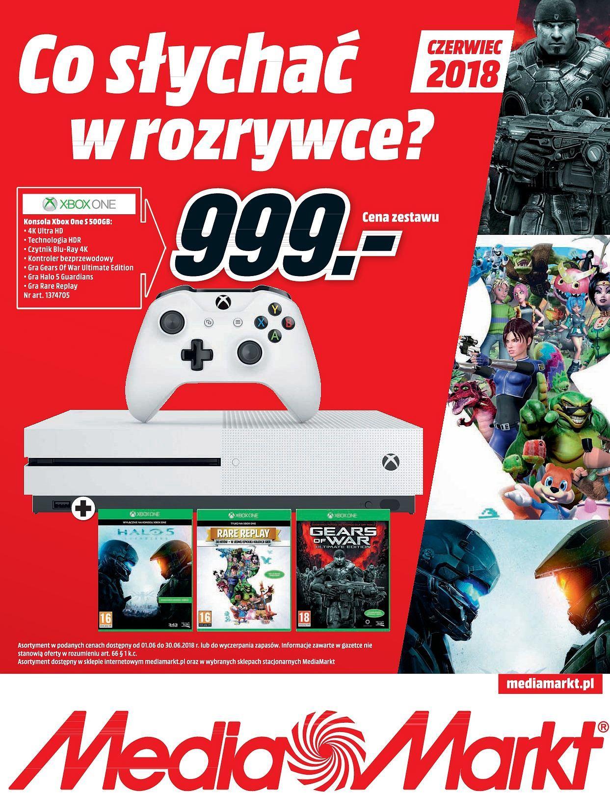 Gazetka promocyjna Media Markt do 30/06/2018 str.0