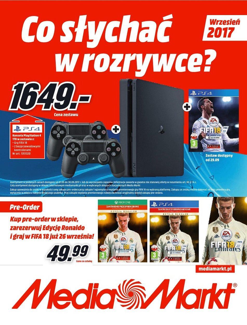 Gazetka promocyjna Media Markt do 30/09/2017 str.0