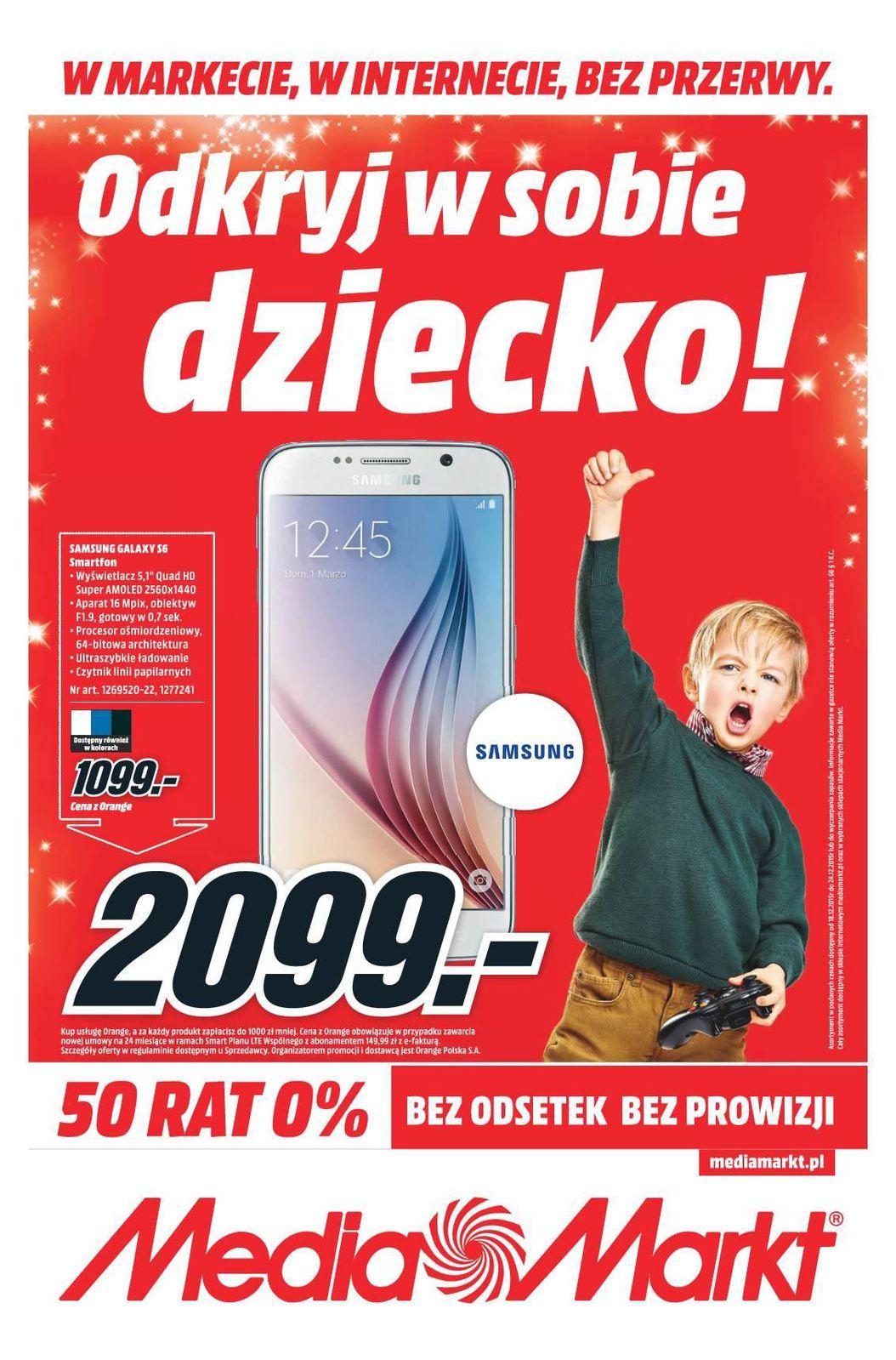 Gazetka promocyjna Media Markt do 24/12/2015 str.0