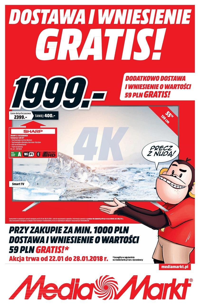 Gazetka promocyjna Media Markt do 28/01/2018 str.0
