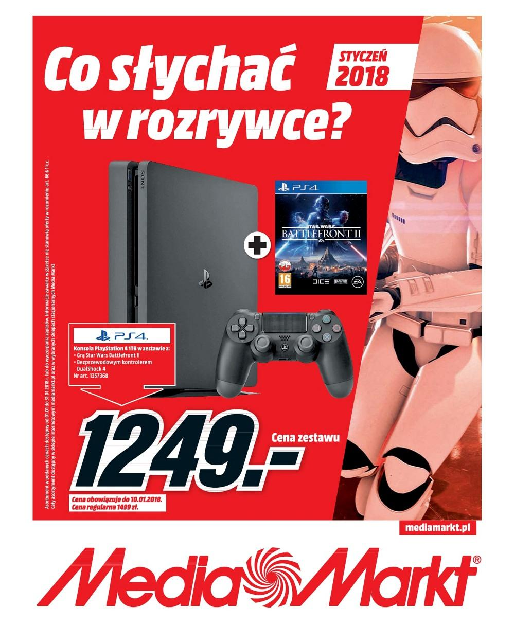 Gazetka promocyjna Media Markt do 31/01/2018 str.0
