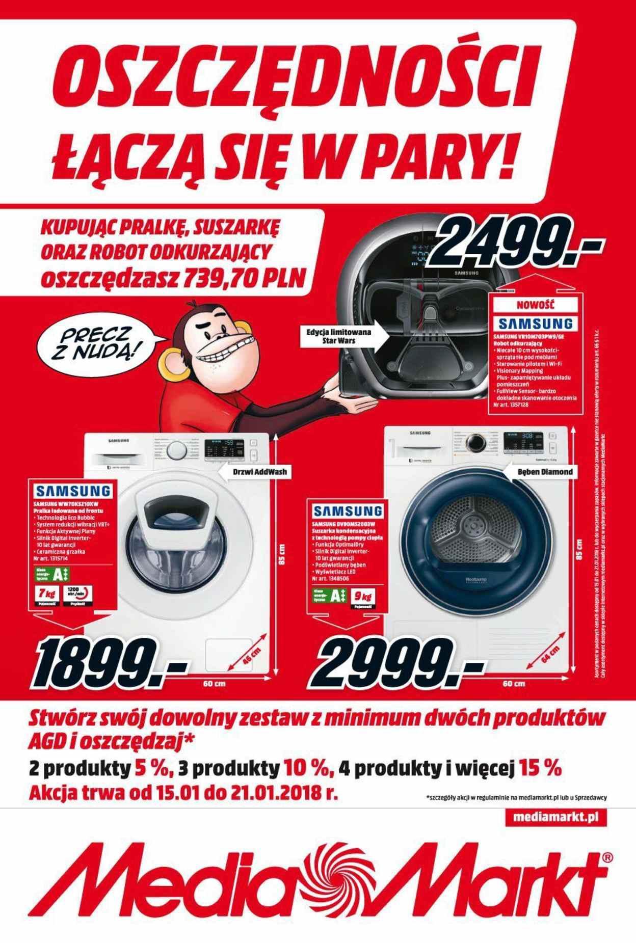 Gazetka promocyjna Media Markt do 21/01/2018 str.0