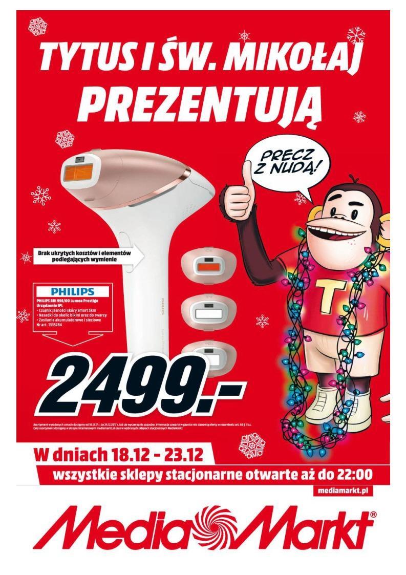 Gazetka promocyjna Media Markt do 24/12/2017 str.0