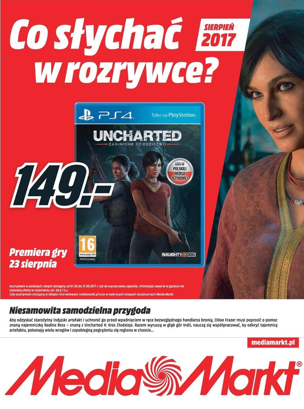 Gazetka promocyjna Media Markt do 31/08/2017 str.0