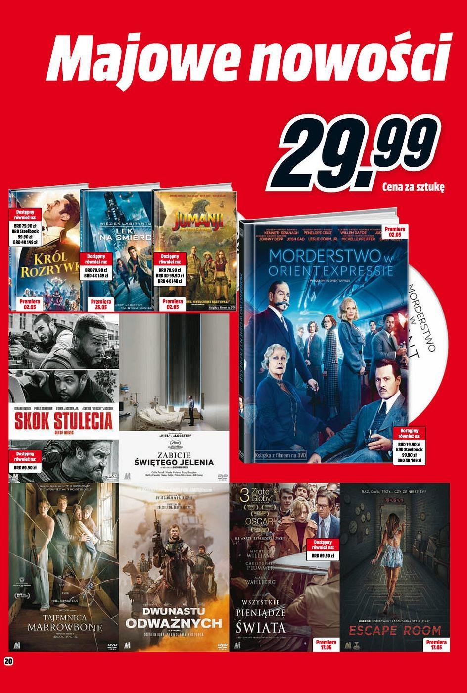 Gazetka promocyjna Media Markt do 31/05/2018 str.19