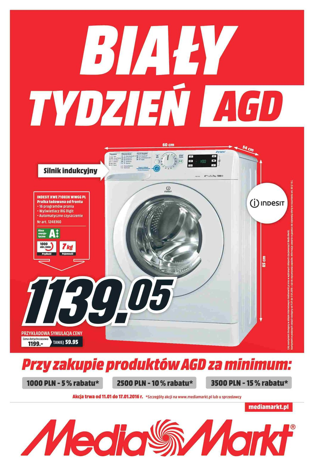 Gazetka promocyjna Media Markt do 17/01/2016 str.1
