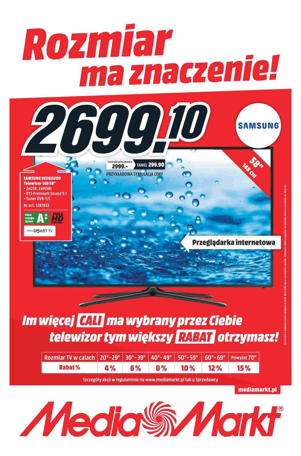 Gazetka promocyjna Media Markt do 28/02/2016 str.0