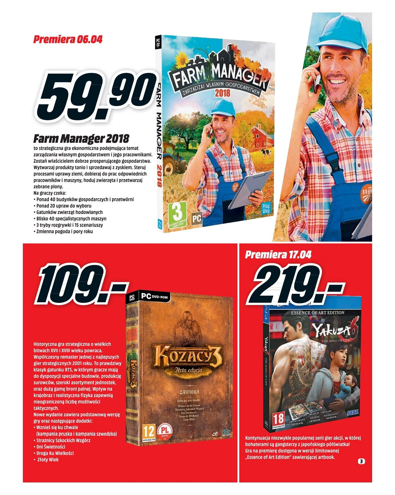 Gazetka promocyjna Media Markt do 30/04/2018 str.3