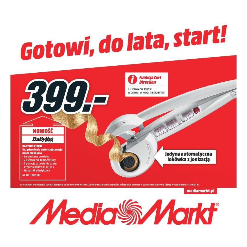 Gazetka promocyjna Media Markt do 03/07/2016 str.0
