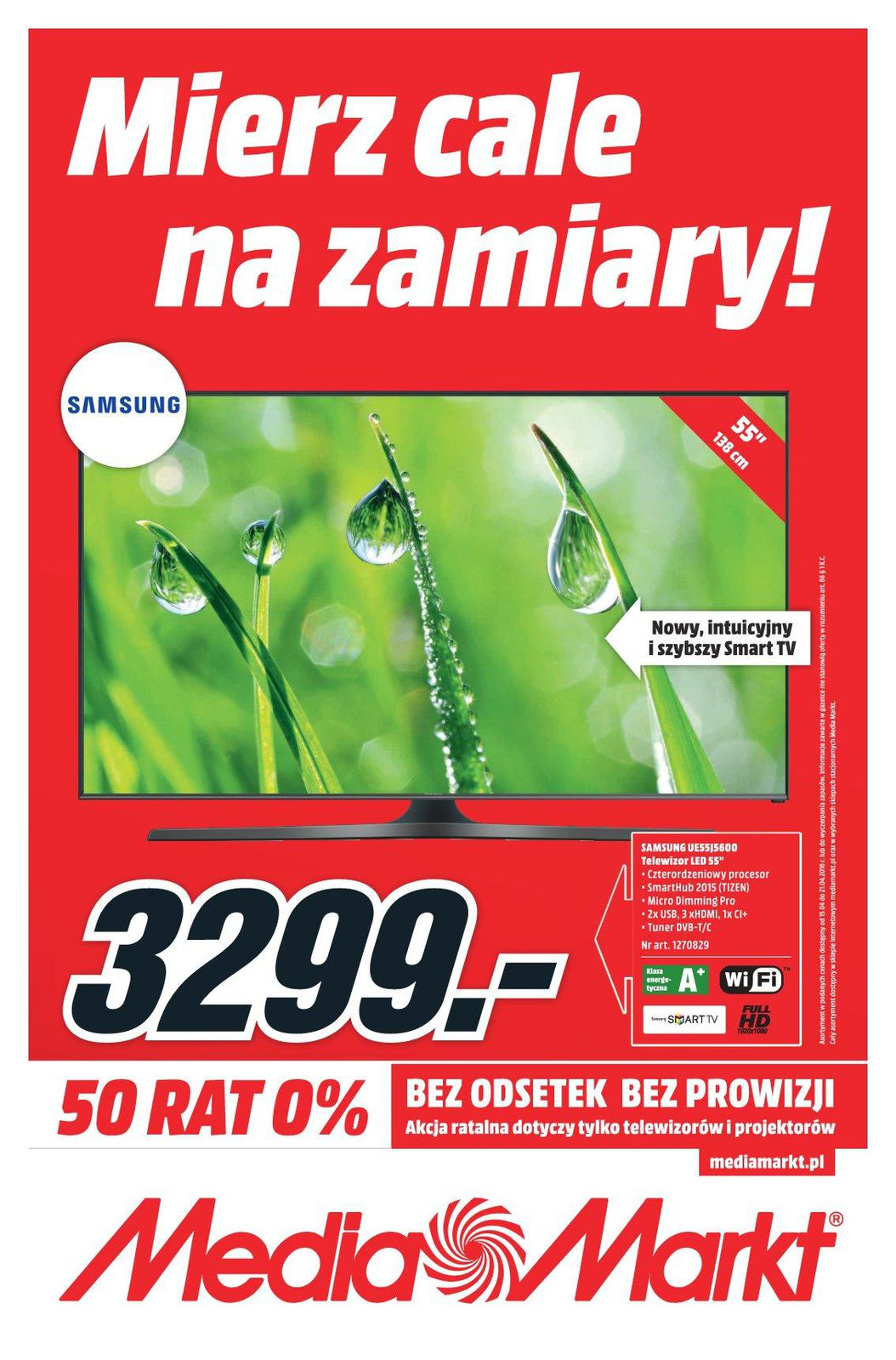 Gazetka promocyjna Media Markt do 21/04/2016 str.0