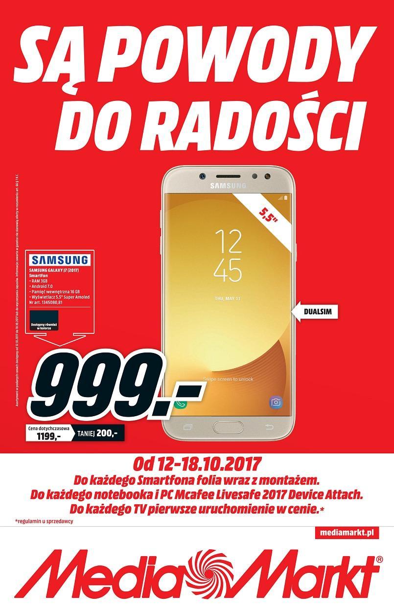 Gazetka promocyjna Media Markt do 18/10/2017 str.0