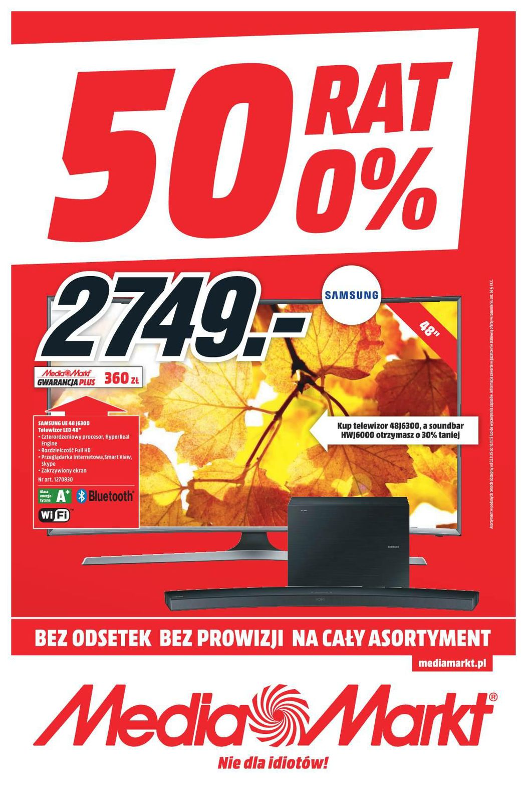 Gazetka promocyjna Media Markt do 10/11/2015 str.0