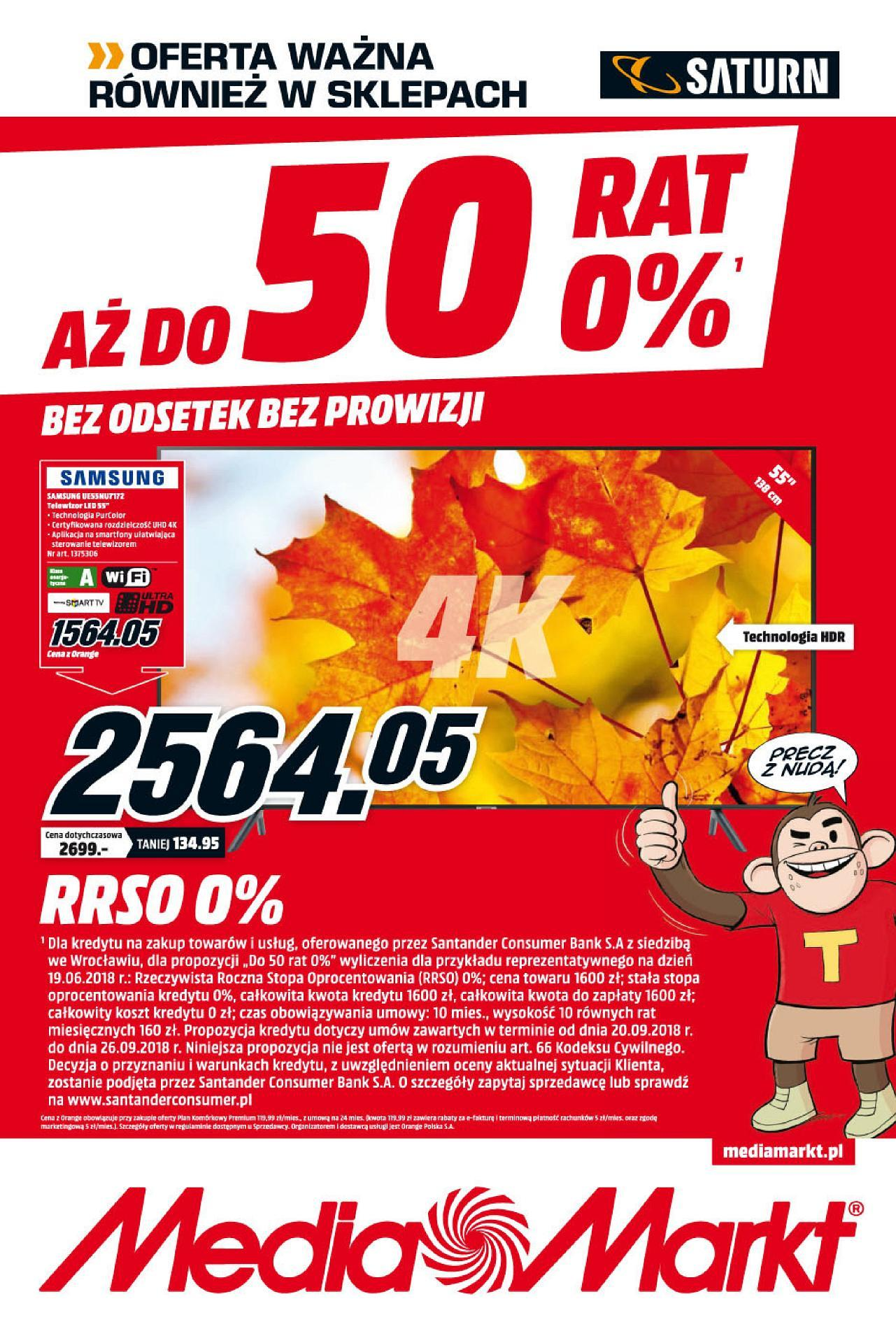 Gazetka promocyjna Media Markt do 26/09/2018 str.1