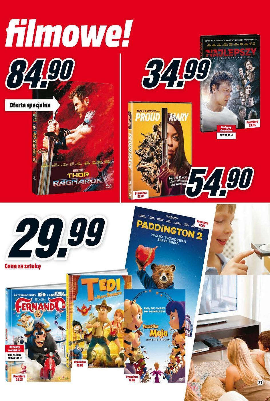 Gazetka promocyjna Media Markt do 31/05/2018 str.20