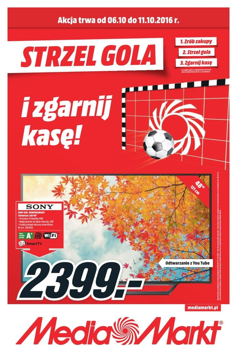 Gazetka promocyjna Media Markt do 12/10/2016 str.1