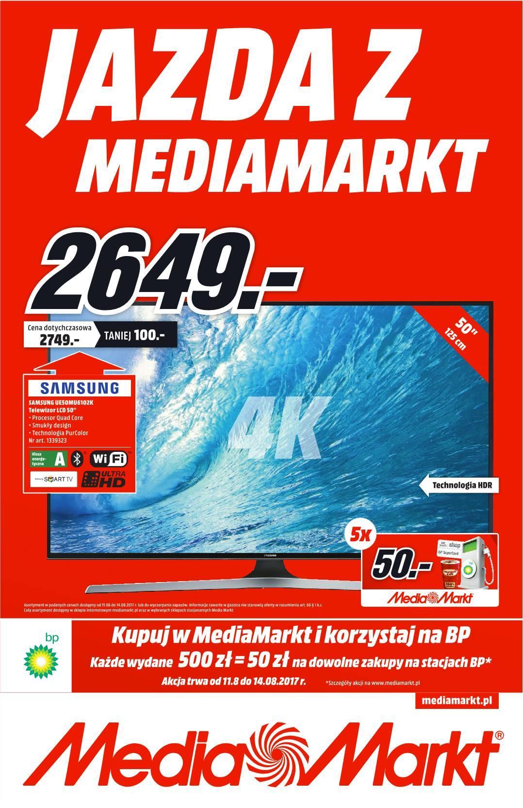 Gazetka promocyjna Media Markt do 14/08/2017 str.0
