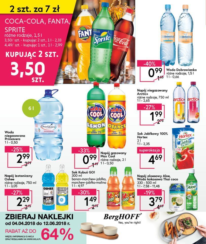 Gazetka promocyjna Mila do 17/04/2018 str.15