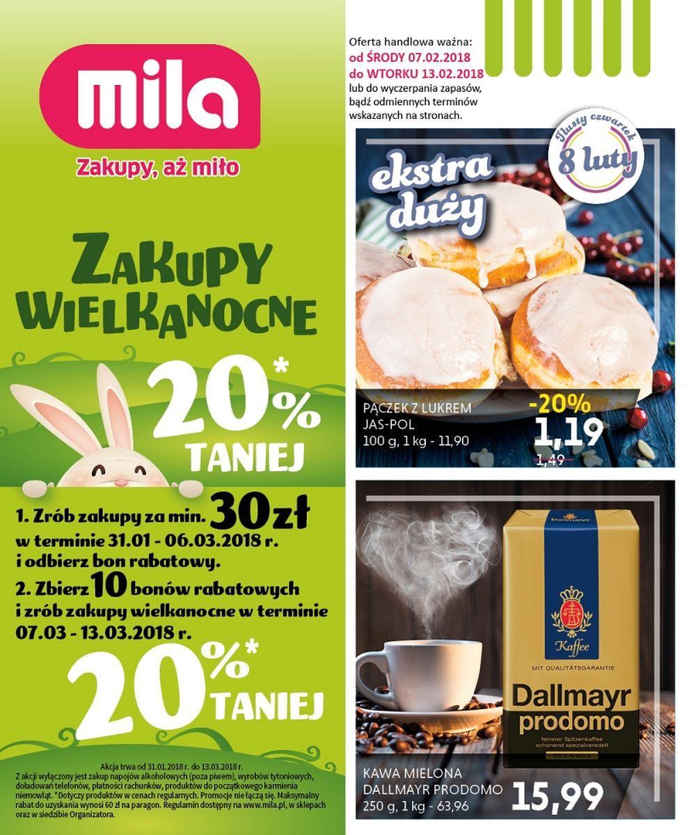 Gazetka promocyjna Mila do 13/02/2018 str.0
