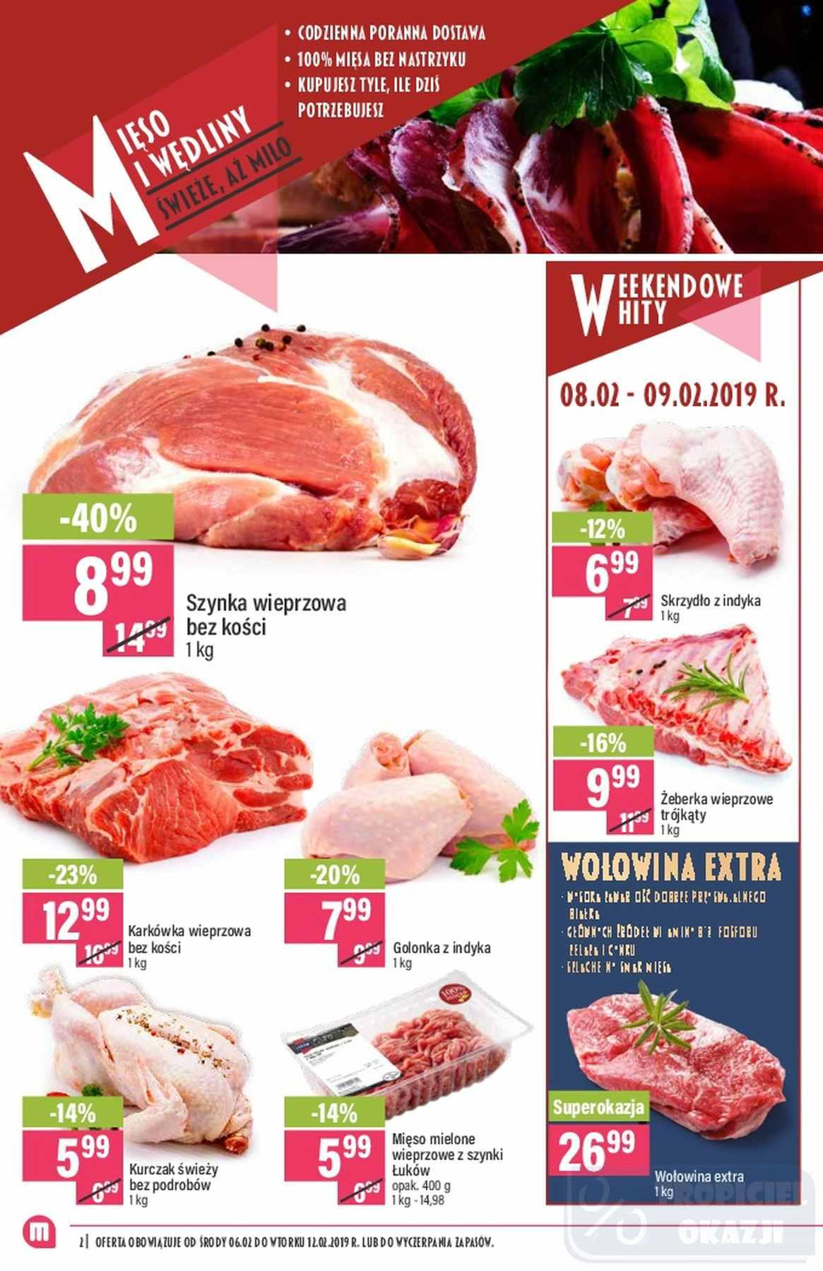 Gazetka promocyjna Mila do 13/02/2019 str.1
