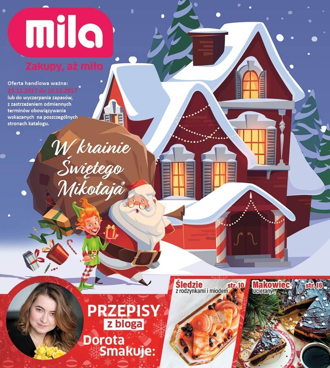 Gazetka promocyjna Mila do 10/12/2017 str.0