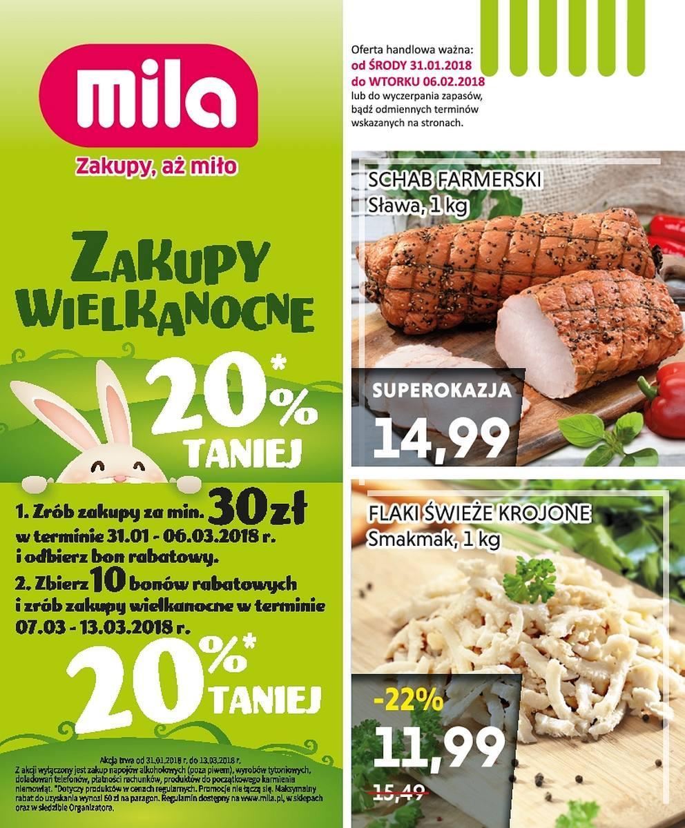 Gazetka promocyjna Mila do 06/02/2018 str.0