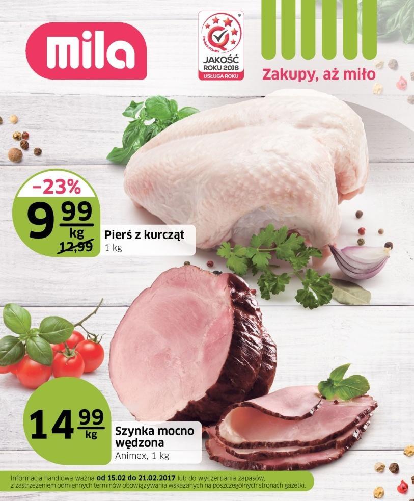 Gazetka promocyjna Mila do 21/02/2017 str.0