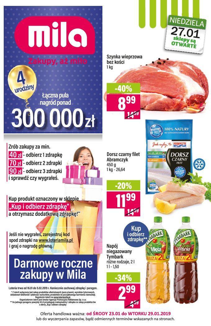 Gazetka promocyjna Mila do 29/01/2019 str.0