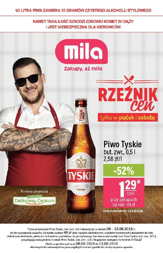 Gazetka promocyjna Mila do 13/08/2019 str.0
