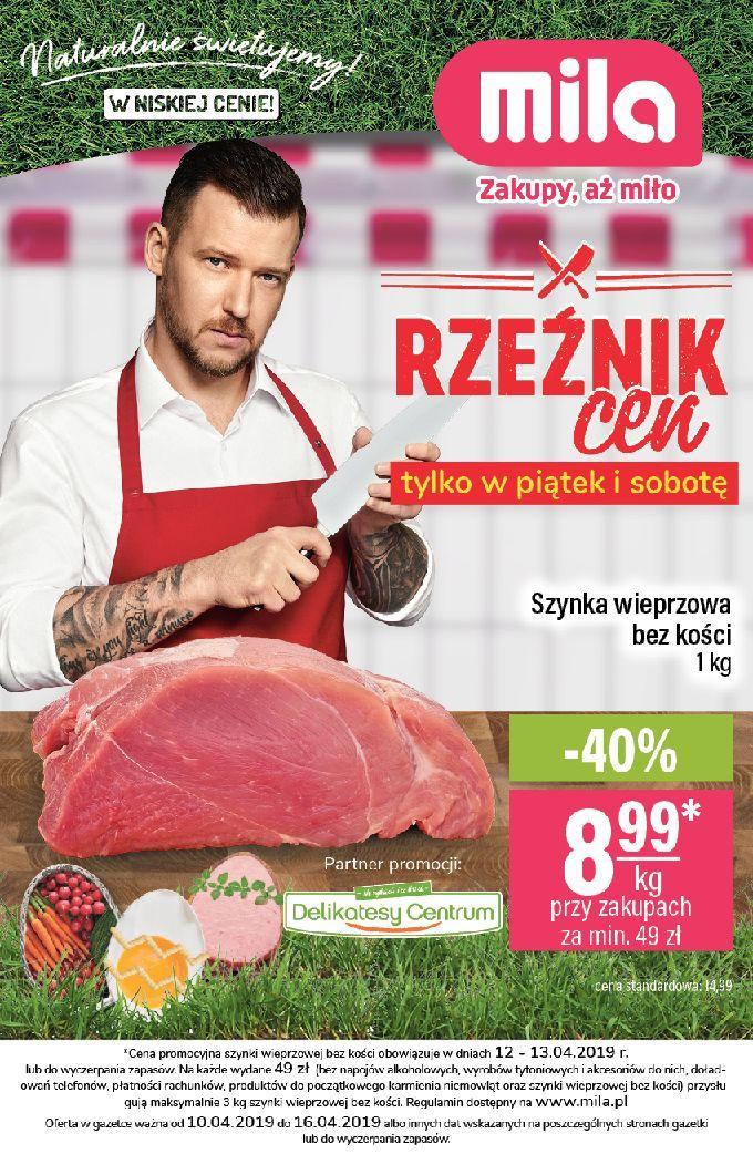Gazetka promocyjna Mila do 16/04/2019 str.0