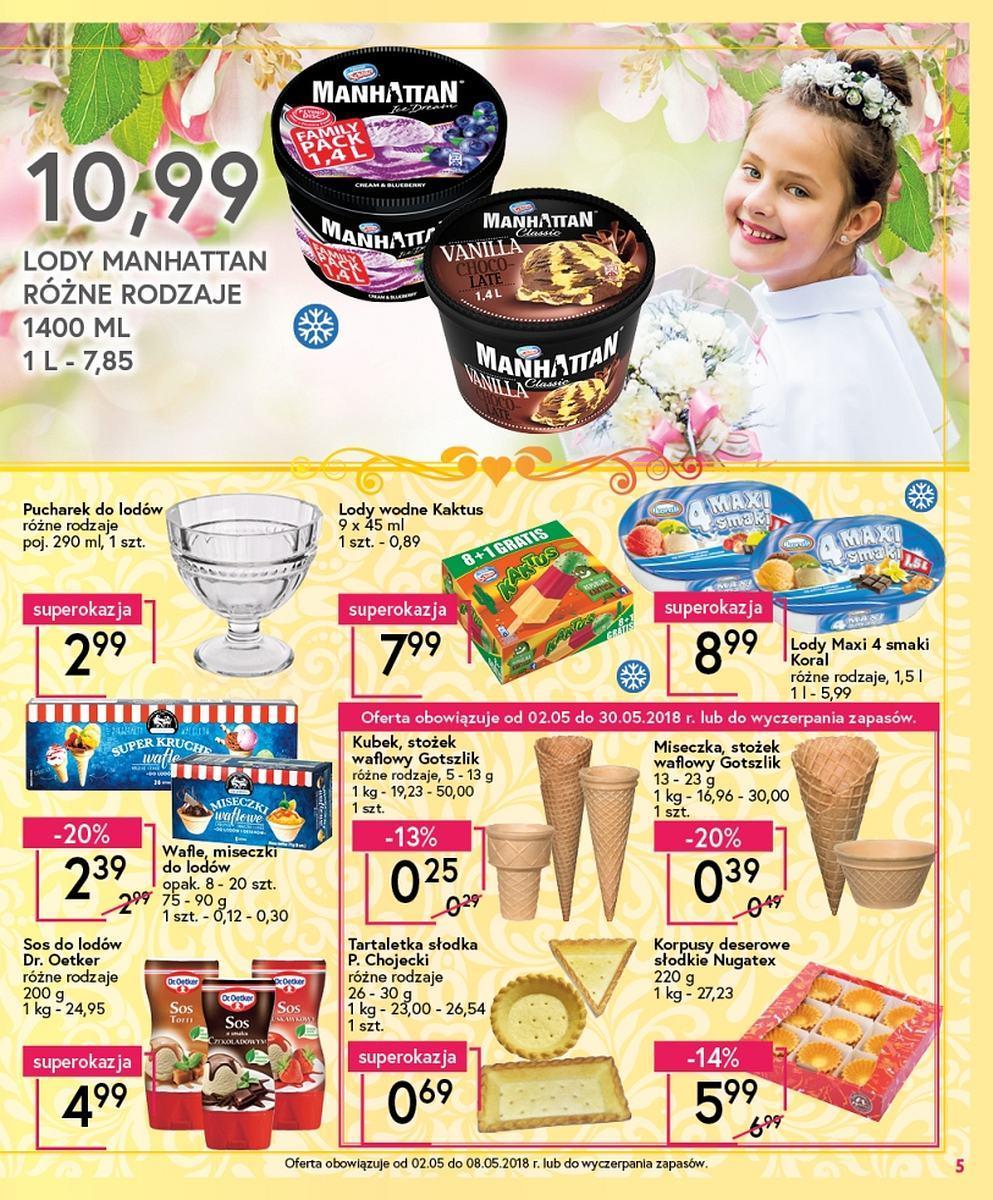 Gazetka promocyjna Mila do 08/05/2018 str.4