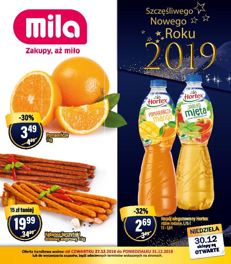Gazetka promocyjna Mila do 31/12/2018 str.0