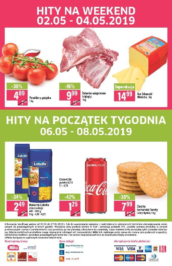 Gazetka promocyjna Mila do 07/05/2019 str.19