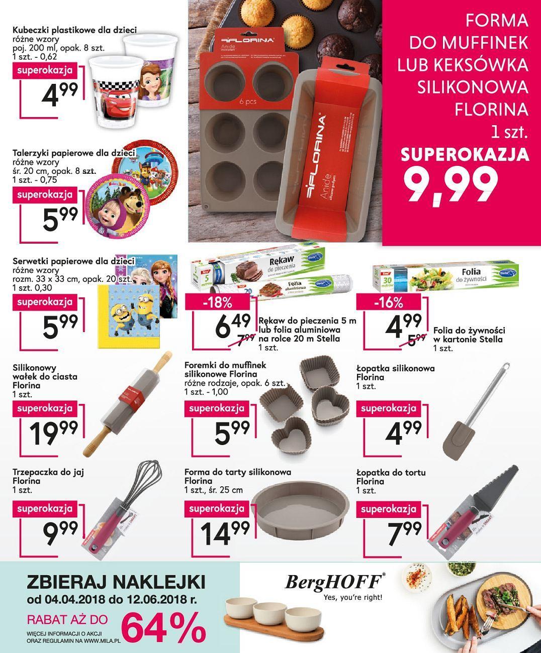 Gazetka promocyjna Mila do 22/05/2018 str.19