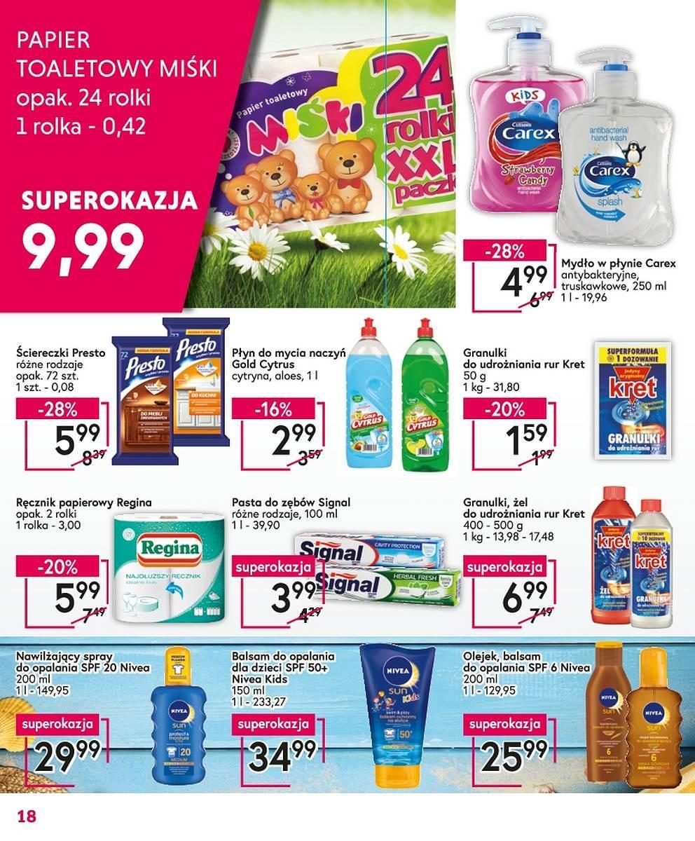 Gazetka promocyjna Mila do 30/04/2018 str.17