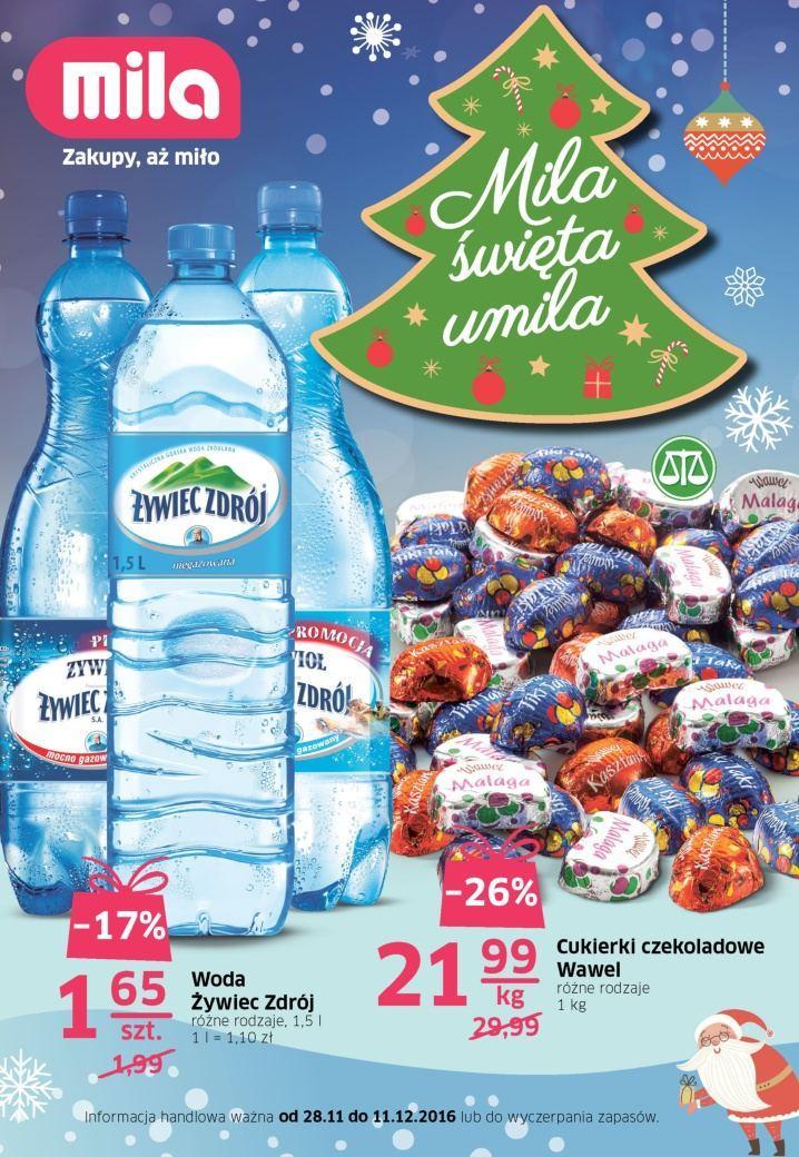 Gazetka promocyjna Mila do 11/12/2016 str.0