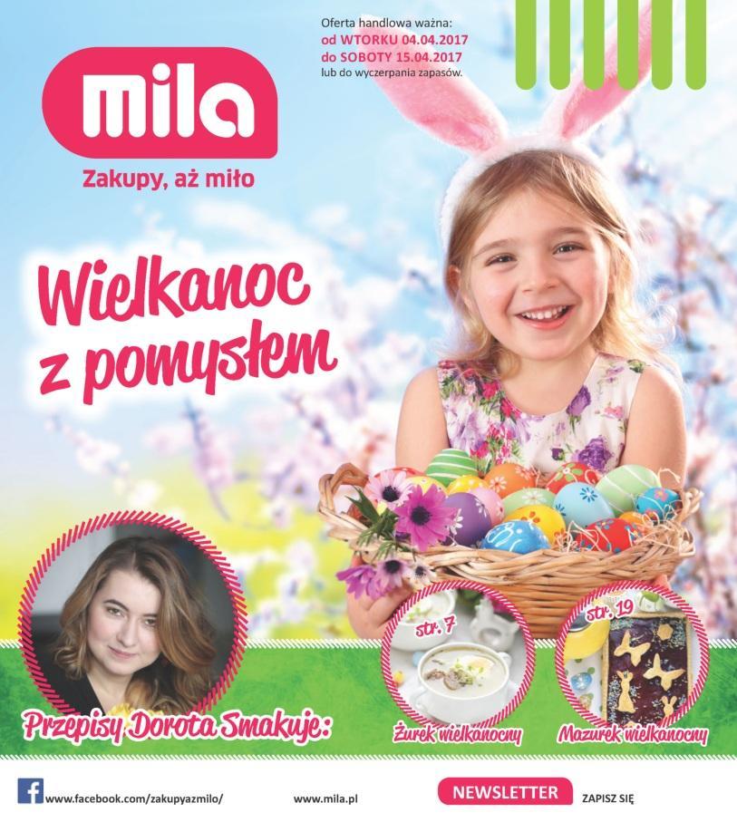 Gazetka promocyjna Mila do 15/04/2017 str.0
