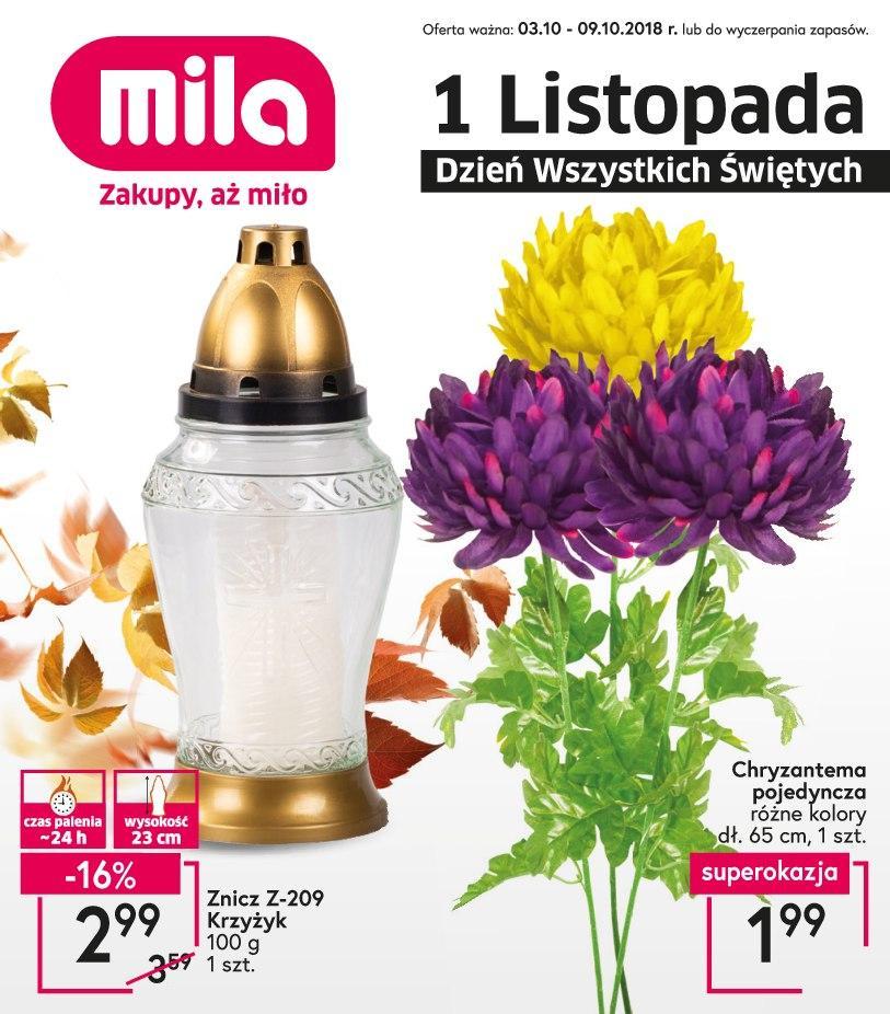 Gazetka promocyjna Mila do 09/10/2018 str.1
