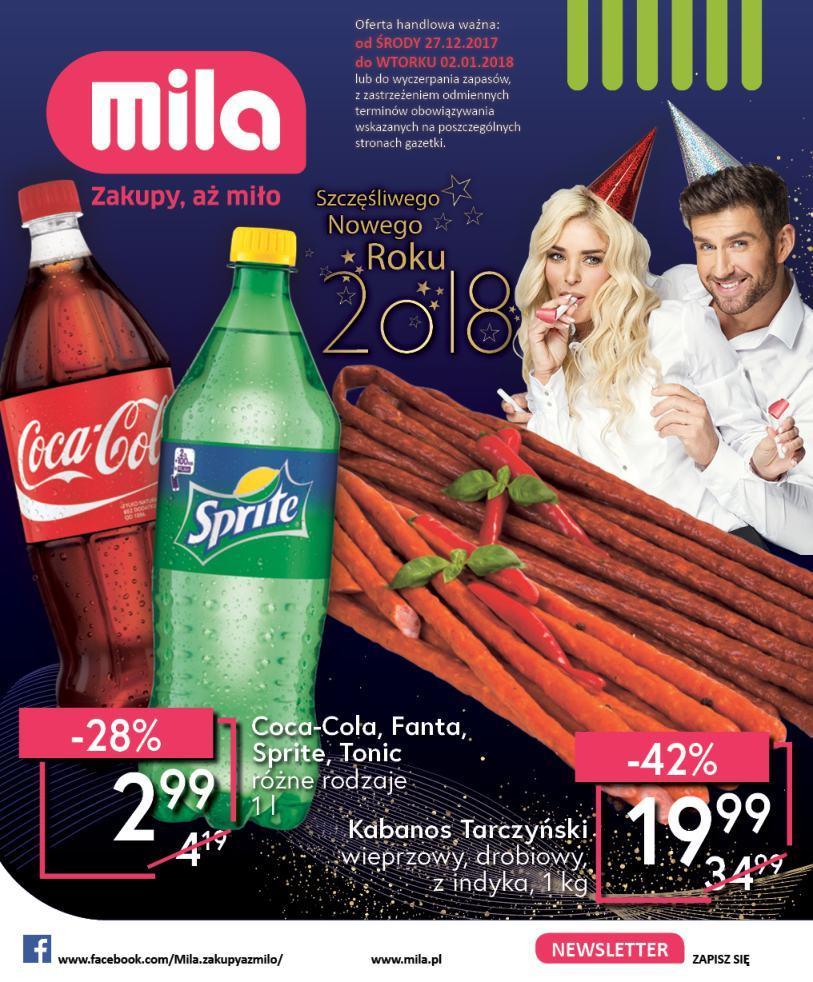 Gazetka promocyjna Mila do 02/01/2018 str.0