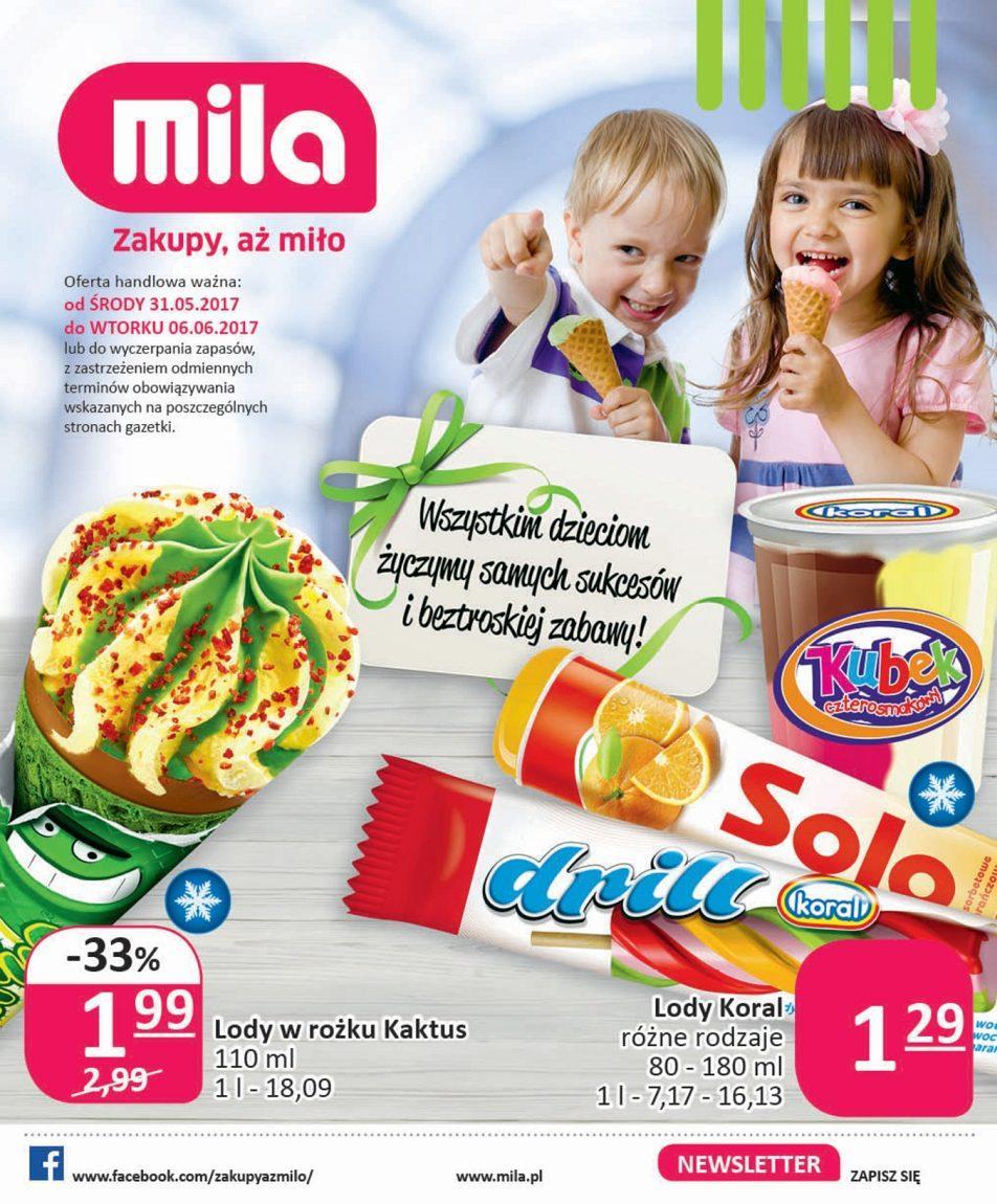 Gazetka promocyjna Mila do 06/06/2017 str.0