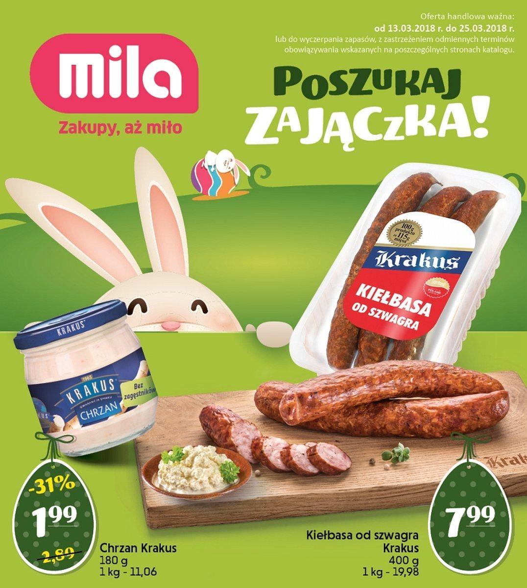 Gazetka promocyjna Mila do 25/03/2018 str.0