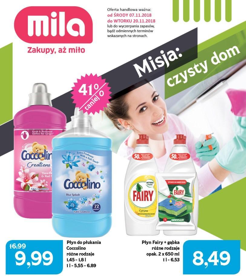 Gazetka promocyjna Mila do 20/11/2018 str.1